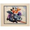 Disney Artist Print - Greg McCullough - Dumbo Ride with Mickey and Pluto