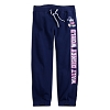 Disney Girl's Sweatpants - Mickey Mouse Sweatpants for Girls - Navy