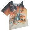 Disney WOMEN'S Shirt - The Empire Strikes Back Sublimated - 1 Sleeve