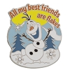 Disney Frozen Pin - Olaf - Friends are Flakes