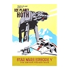 Disney Magnet - Star Wars Ice Planet Hoth x River Cruise Retro Poster