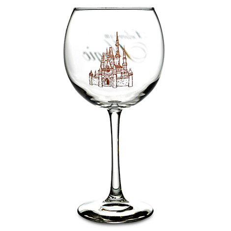 Disney Beauty And The Beast Wine Glasses
