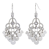 Disney Earrings - Mickey Icons Chandelier with Faux Rhinestones