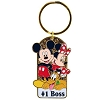 Disney Keychain - Mickey, Minnie and Pluto Together - Choice