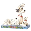 Disney Traditions by Jim Shore - Pongo with Penny and Rollie