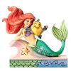 Disney Traditions by Jim Shore Figurine - Ariel with Flounder