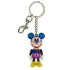 Disney Keychain - Colorful Iridescent Jointed Mickey