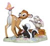 Disney Precious Moments Figurine - Bambi Thumper and Flower