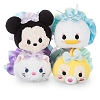 Disney Tsum Tsum Plush Set - Dressy Minnie & Friends