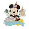 Disney Pin - Mickey Mouse - Happy Birthday Box