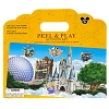 Disney Playset - Disney World Attractions & Characters Peel & Play Kit