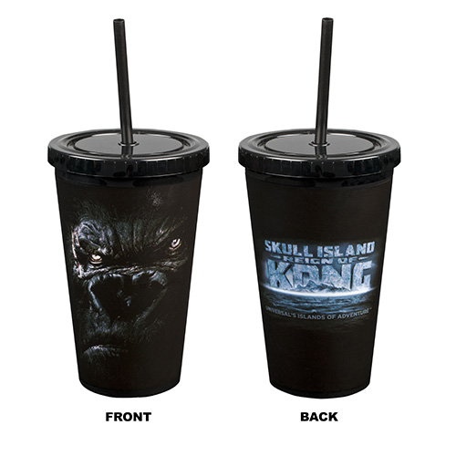 Universal Tumbler With Straw Skull Island Reign Of Kong