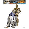 Disney Auto Decal - Star Wars C-3PO & R2-D2