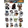 Disney Auto Decal Set - Star Wars Heroes & Villains