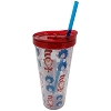 Universal Plastic Tumbler & Straw - Dr. Seuss Cat in the Hat & THINGS