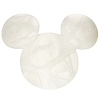 Disney Coaster - Alabaster Mickey Icon - White