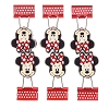 Disney Binder Clips - Minnie Mouse Face - 6 Pack