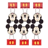 Disney Binder Clips - Mickey Mouse Face 6 Pack