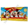 Disney Beach Towel - Mickey and Pals Towel in a Bag