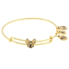 Disney Alex And Ani Charm Bracelet - Mickey Mouse Slider Bangle - Gold