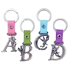 Disney Keychain Keyring - Pewter Tinkerbell Initial