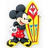 Disney Kitchen Magnet - Mickey Mouse Yellow Surfboard