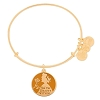 Disney Alex and Ani Charm Bracelet - Belle Find Beauty Within - Gold