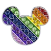 Disney Mickey Pin - Icon - Rainbow Jeweled
