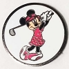 Disney Golf Ball Marker Clip with Marker LBV Minnie Mouse Yardage Coin