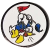 Disney Golf Ball Marker Clip with Marker LBV Donald Duck Yardage Coin