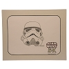 Disney Artist Sketch - Star Wars 5K Marathon - Storm Trooper Helmet