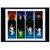 Disney Postcard - The Dark Side & the Light by Jerrod Maruyama