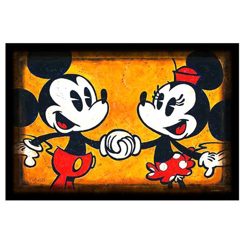 Your Wdw Store Disney Print Mickey Amp Minnie Print By