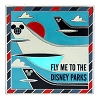 Disney Pin - T.A.G. Fly Me To Disney Parks