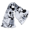 Disney Scarf - Classic Mickey Mouse - Black and White