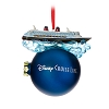 Disney Figure on Ball Ornament - Disney Cruise Line Miniature Ship