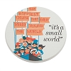 Disney Coaster - Attraction Poster Art - ''it's a small world''