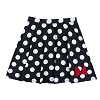 Disney LADIES Skirt - Minnie Mouse Polka Dot with Pleats and Bow
