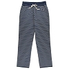 Disney LADIES Lounge Pants - Mickey Striped Silhouette - Navy
