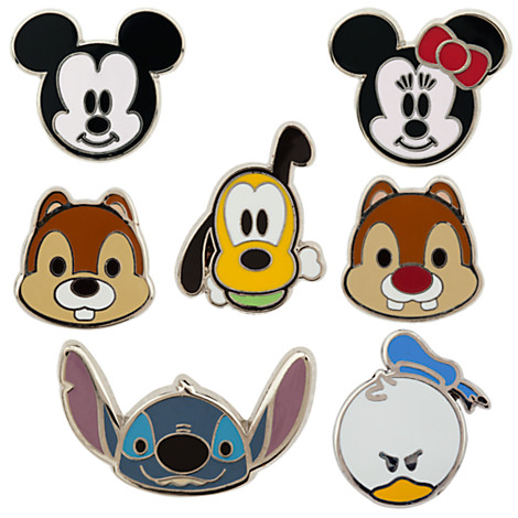 Your WDW Store - Disney 7 Pin Booster Set - Mickey Mouse ...