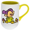 Disney Coffee Cup Mug - Dopey Dwarf & Castle Sketch Art