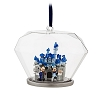 Disney Ornament - Disneyland 60th Castle In Glass