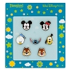 Disney 7 Pin Booster Set - Mickey Mouse and Friends Faces Pin Set