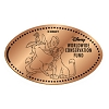 Disney Pressed Penny - Pumbaa and Simba Conservation Fund