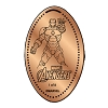 Disney Pressed Penny - Marvel Avengers - Iron Man