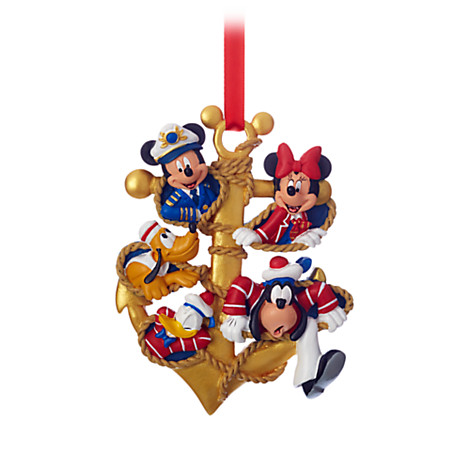 Disney Cruise Line Christmas Ornament Captain Mickey And Crew