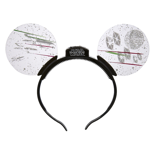 Disney Headband Hat Star Wars Death Star Light Up Ears