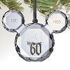 Disney Ornament - Disneyland 60th Mickey Mouse Icon Gem Ornament