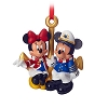 Disney Cruise Line Ornament - Captain Mickey and Minnie  Ornament