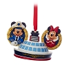 Disney Cruise Line Ornament-Captain Mickey & Minnie with Ship